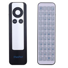 iPazzport -56 Bluetooth Wireless Remote QWERTY Keyboard For Apple TV2 /TV3 Black