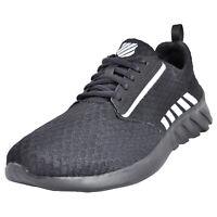 K Swiss Aeronaut Mens Running Shoes Fitness Gym Casual Fashion Trainers Black