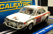 Scalextric Ford Escort MK1 With Working Lights Brand New 1/32 Slot Car C3313