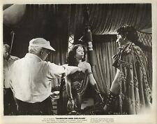 "HEDY LAMAR & VICTOR MATURE in ""Samson & Delilah"" Orig. BETWEEN SCENES Photo 1959"