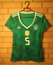 Germany #5 2018 Football Shirt  Away Size M Women Jersey Soccer Adidas