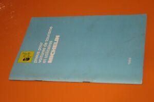 (217) Catalogue pneus pour voitures de tourisme et utilitaires Michelin 1968