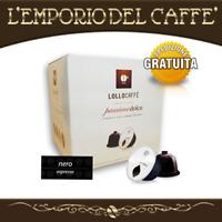 128 Capsule Caffè LOLLO PASSIONE DOLCE Nero espresso - Compatibile Dolce Gusto