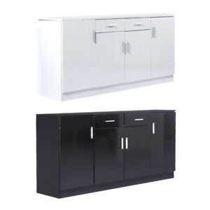 Levede Buffet Sideboard Storage Cabinet Artiss High Gloss Cupboard Drawers