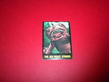 OUTER LIMITS trading card #19 Bubbles Inc. 1964 tv horror sci-fi PRINTED IN USA