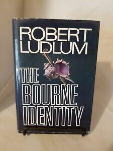 The Bourne Identity by Robert Ludlum 1980 True 1st Edition First Printing Marek