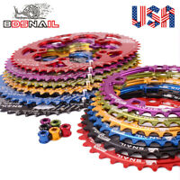 SNAIL 110BCD 50/35T Double Oval Chainring Road Folding Bike Chainwheel Bolts CNC