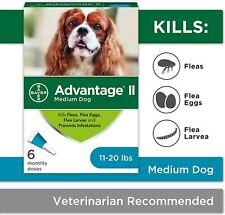 Advantage Ii 6-Dose Medium Dog Topical Flea Treatment for Dogs 11-20 Pounds
