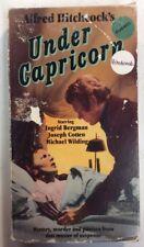 Under Capricorn VHS 1987 Alfred Hitchcock Bergman Cotten Wilding VHSshop.com