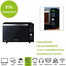 New Panasonic NN-DF386BBPQ 3-in-1 Combination Microwave Oven & Grill - Black
