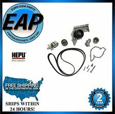 For 02-06 A4 02-04 A6 Quattro 3.0 V6 HEPU Engine Timing Belt Kit With Water Pump