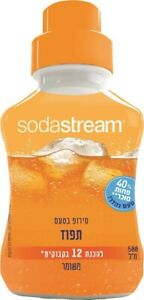 SodaStream Orange -flavored Soda Syrup - 500ml