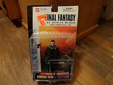 2000 BAN DAI--FINAL FANTASY THE SPIRITS WITHIN--GENERAL HEIN FIGURE (NEW)