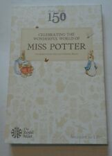 2016 ROYAL MINT - BEATRIX POTTER 50p FIFTY PENCE COIN COLLECTOR ALBUM PACK