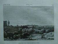 1845 Zuccagni-Orlandini Avanzi dell'Antico Teatro di Siracusa in Sicilia