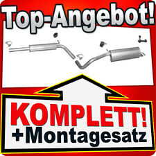 Auspuff SKODA FABIA 1.4 Schrägheck 12.2009-11.2014 Auspuffanlage T94B