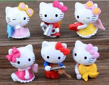6pcs/set Hello Kitty figure Mini series toys About 3 cm  Free Shipping