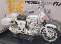 Aoshima 1/12 Scale Model Motorcycle 1046512500 - Honda CB750 Four - White