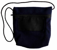 New Bonding Pouch (Navy Blue) for Sugar Gliders and small pets - Factory Sealed