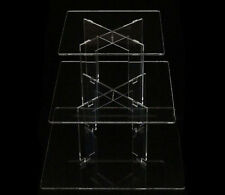 TK 3 Tier [Square] Clear Acrylic Cupcake Party Wedding Cake Display Tower Stand