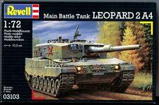 KIT REVELL 1:72  KIT CARRO ARMATO LEOPARD 2 A4  ART 03103