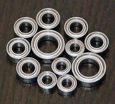 (12pcs) KYOSHO PENSKE PC19 / ZR1 RAMPAGE UPGRADE Metal Sealed Ball Bearing Set