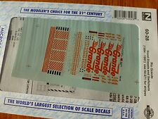 Microscale Decal N  #60-28 Rio Grande Hood Diesels (1984-1991) use with 60-271 s