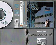 DEPECHE MODE Some Great Reward JAPAN CD w/OBI+9-p BOOKLET Pony PCCY-00577 FREE S