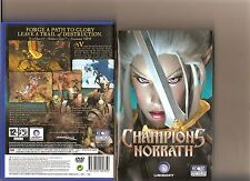 CHAMPIONS OF NORRATH PLAYSTATION 2 PS2 PS 2 RARE RPG