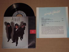"ASWAD -Beauty's Only Skin Deep- 7"" mit Product Facts Promo-Flyer"