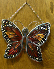 Amia Studios Suncatcher #8257 MONARCH BUTTERFLY, NEW/Box From Retail Store