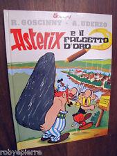 ASTERIX E IL FALCETTO d'oro CARTONATO vintage NUOVO del 1998 MONDADORI  ottimo