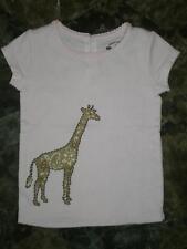 Gap Safari Giraffe Embroidered Top Size 4T NWT 2008