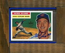 HERB SCORE-2001 Topps Archives Autograph Card