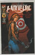 WITCHBLADE  #40 BULLSEYE VARIANT SIGNED BY KEU CHA  SEALED  VERY RARE