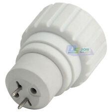 White MR16/GU5.3 To GU10 Light Bulb Base Socket Lamp Adapter Converter Holders
