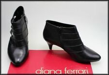 Diana Ferrari Leather Ankle Boots for Women