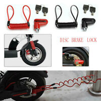 M365 Electric Scooter Anti-Theft Wheels Disc Brakes Safety Lock with Steel Wire