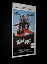 Original 1986 TOUGH GUYS Australian Daybill BURT LANCASTER KIRK DOUGLAS N/MINT