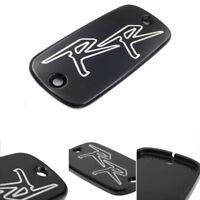 Krator Motorcycle Fluid Black Reservoir Cap Logo Engraved For 1995-2006 Honda CBR 600 F3//F4//F4i