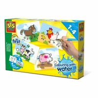 Ses Creative INFANTIL My First Colorear con Agua Granja Animales Set (14455)