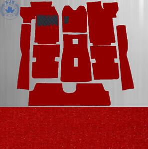 Carpet Set Carpet for Alfa Romeo Gtv 2.0 And Gtv / 6 1980-1986 Velour Red