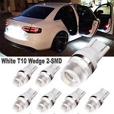 10x Super Bright White T10 Wedge Samsung LED Light bulbs 194 W5W 2825 168 921