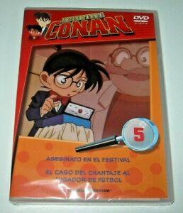 Detective Conan Vol. 5 DVD - Edición española precintado