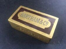 Bartram & Co Advertising Solid Brass Paperweight Samuel Heath & Sons Birmingham