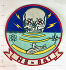 Original vintage NAVY Helicopter Squadron patch  HS-861 Helantisubron