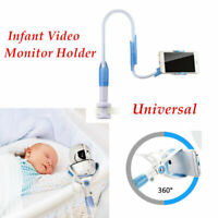 Universal Baby Flexible Camera Stand Mount Video Monitor Holder For Cot Crib US