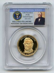 2010 S $1 Millard Fillmore Dollar PCGS PR70DCAM