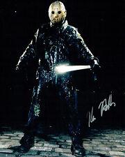 Kane HODDER SIGNED Autograph 10x8 Photo B AFTAL COA Jason VOORHEES Friday 13th