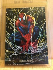 1992 MARVEL MASTERPIECES SPIDER-MAN PROMO